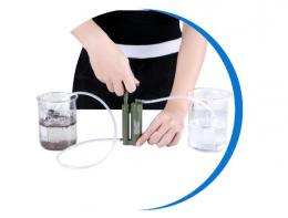 小型便携式户外净水器—河水直接变直饮水
